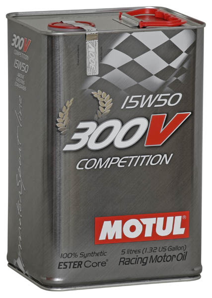Моторное масло MOTUL 300V  COMPETITION 15W50  (5 л.)