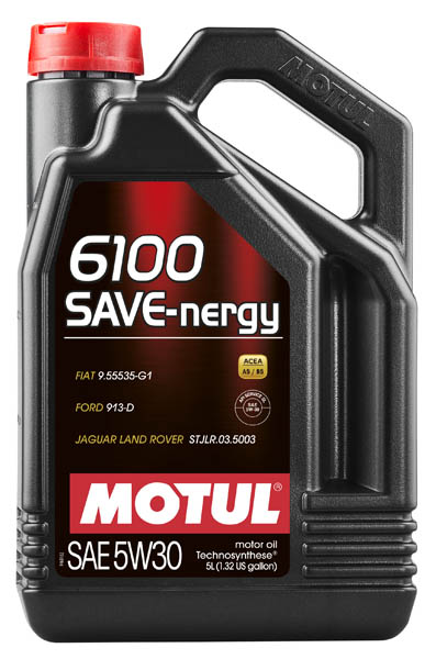 Моторное масло MOTUL 6100 SAVE-NERGY 5W30  (5 л.)