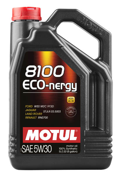 Моторное масло MOTUL 8100 ECO-nergy 5W30  (5 л.)